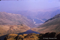 Small Water & Haweswater from Nan Bield Oct 64
