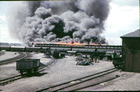Preston engine shed fire 1960