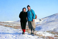 In the Kentmere Hills in January 65
