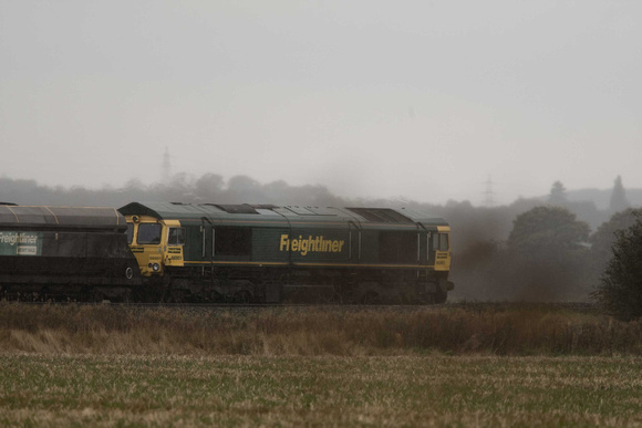 Coal train, Worlaby