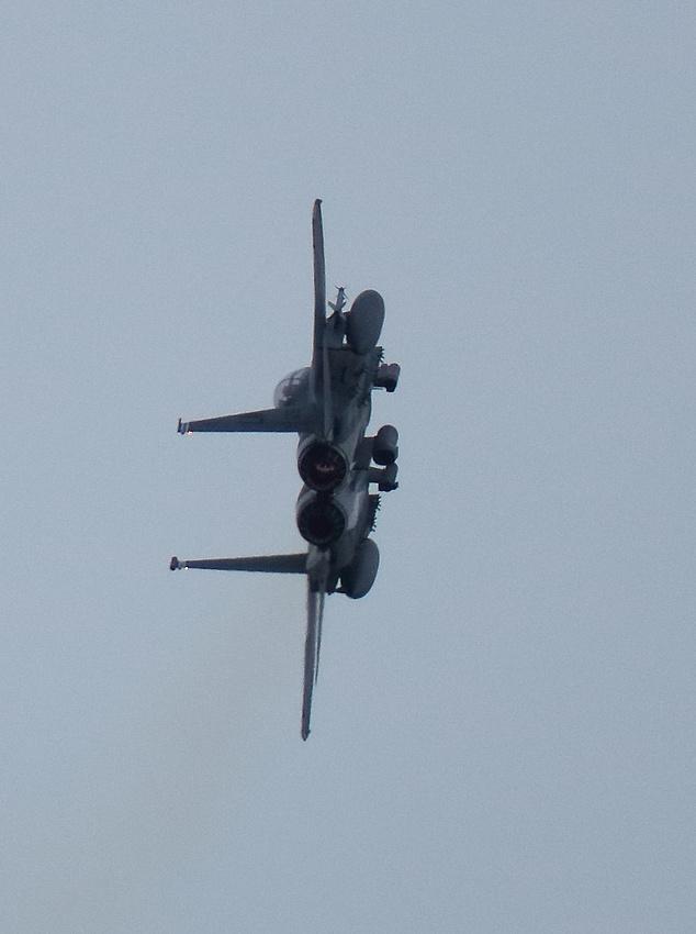 Jet fighter Donna Nook
